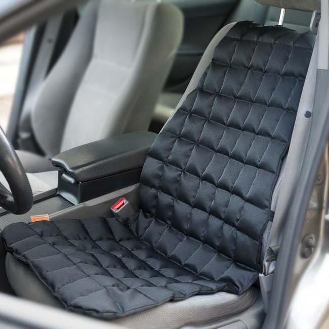 Накидки с лузгой гречихи на кресло автомобиля