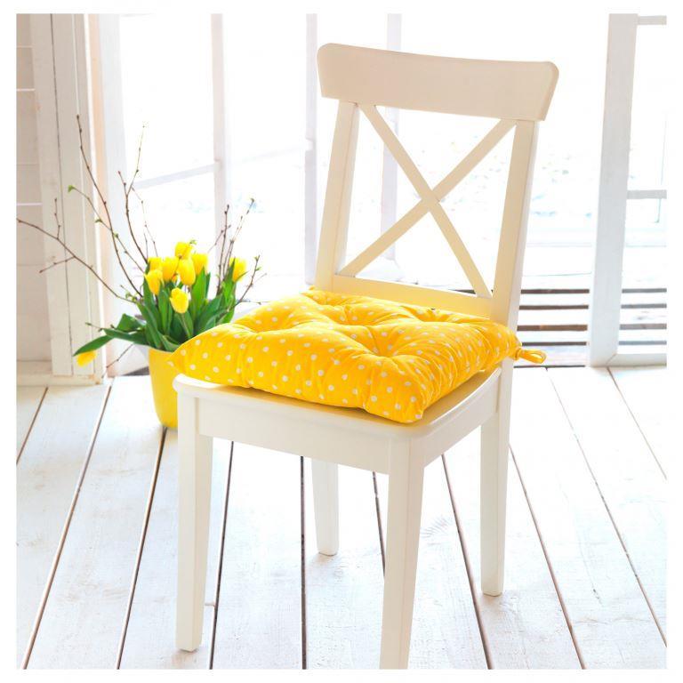 Фото мягкие подушки на стул