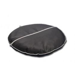 "Круглая подушка на стул с лузгой гречихи ""Гемо-Комфорт Офис"""