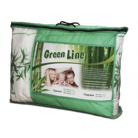 Подушка Бамбук Green Line ТМ Нордтекс