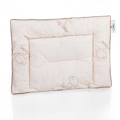 """Подушка """"Наше сокровище"""" - овечья шерсть для малышей"""
