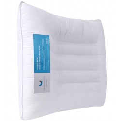 Ортопедическая подушка с лузгой гречихи, цветами лаванды и магнитными лентами Therapeutic MIXE Orthovitex Максимум здорового сна