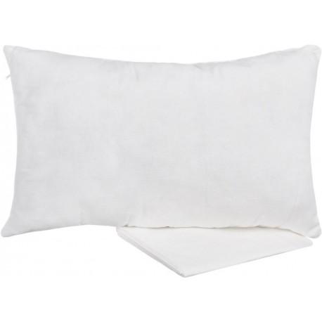 Льняная подушка с лузгой гречихи