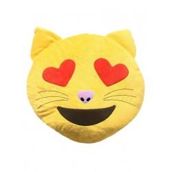 Декоративная подушка Смайл Влюбленный кот Sleepy