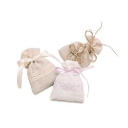 Набор ароматических саше с лавандой Лавандовый Флер в подарочной упаковке