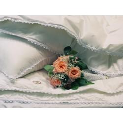 Подушка пуховая Идеальное приданое Nature`s упругая с внутренним ядром