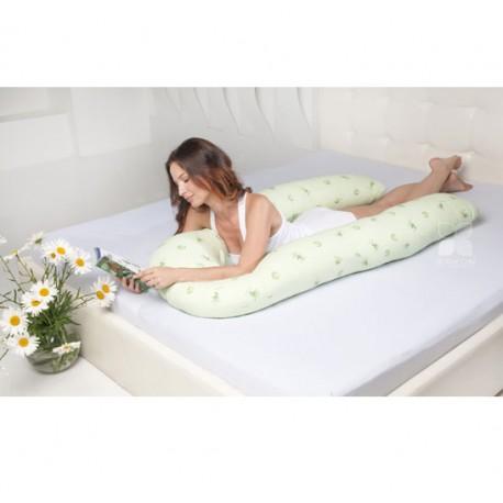 Подушка для беременных U Био Легкие сны с бамбуковым волокном