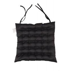 Фото подушек с лузгой гречихи на сиденье Уют с завязками