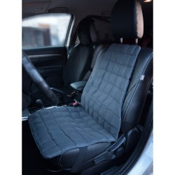 Накидка Комфорт-Авто Клетка  Smart Textile с лузгой гречихи