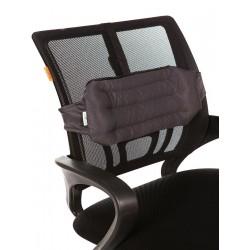 "Подушка на спинку кресла из лузги гречихи ""Офис"""
