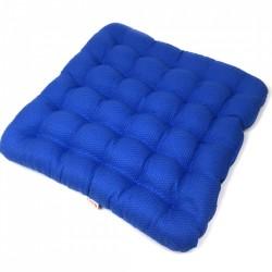 Подушка на стул из гречихи Комфорт Лето Биоподушка Синее