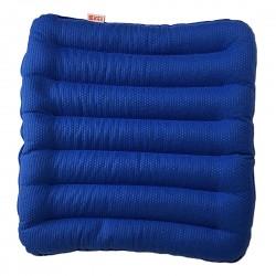 Подушка на стул из гречихи Классик Лето Биоподушка Синее