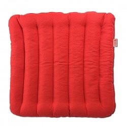 Подушка на стул из гречихи Классик Лето Биоподушка Красное