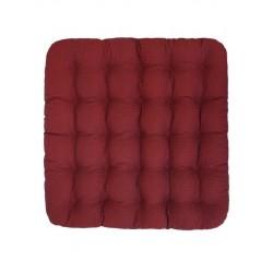 Подушка Уют Премиум с массажным покрытием с гречневой лузгой, красная Smart Textile