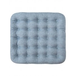 Подушка Уют Крафт Smart Textile с лузгой гречихи, голубая