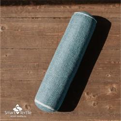 Валик Крафт Smart Textile голубой с лузгой гречихи