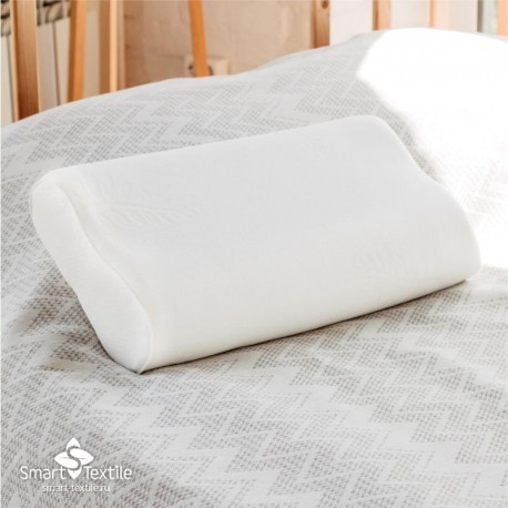 Ортопедическая подушка с эффектом памяти Эргономика с ионами серебра