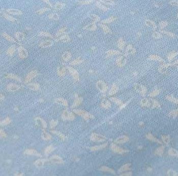 Голубые бантики Бязь